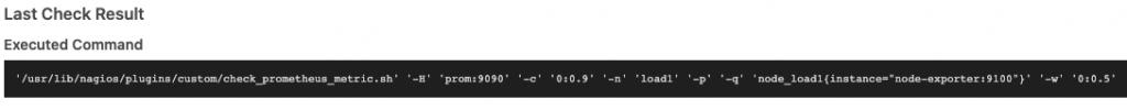 Icinga Web 2 Service Command Line